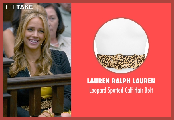 Lauren Ralph Lauren belt from Ted 2 seen with Jessica Barth (Tami-Lynn)