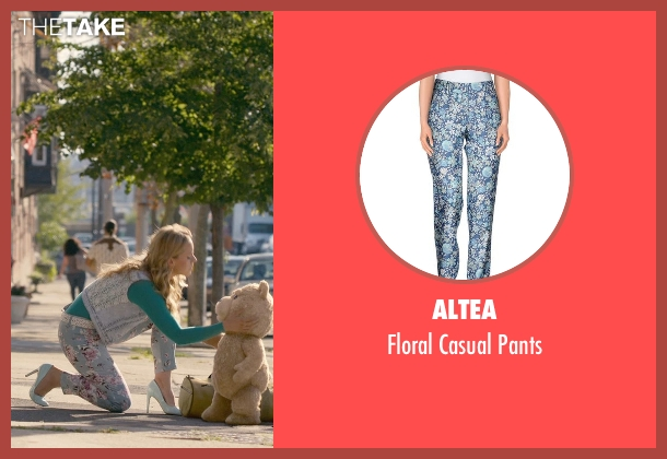 Altea blue pants from Ted 2 seen with Jessica Barth (Tami-Lynn)