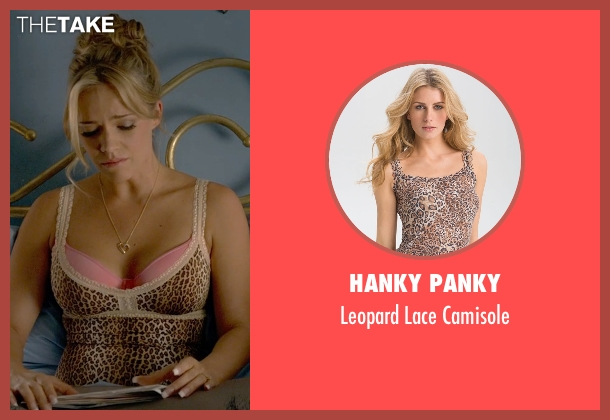 Hanky Panky brown camisole from Ted 2 seen with Jessica Barth (Tami-Lynn)