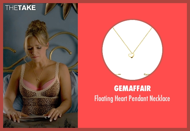 GemAffair gold necklace from Ted 2 seen with Jessica Barth (Tami-Lynn)