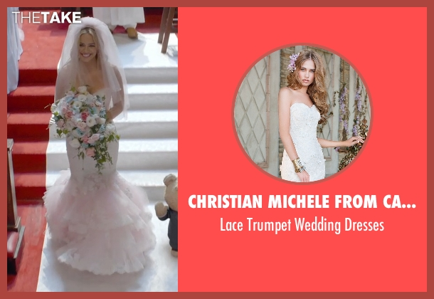 Christian Michele from Camille La Vie white dresses from Ted 2 seen with Jessica Barth (Tami-Lynn)
