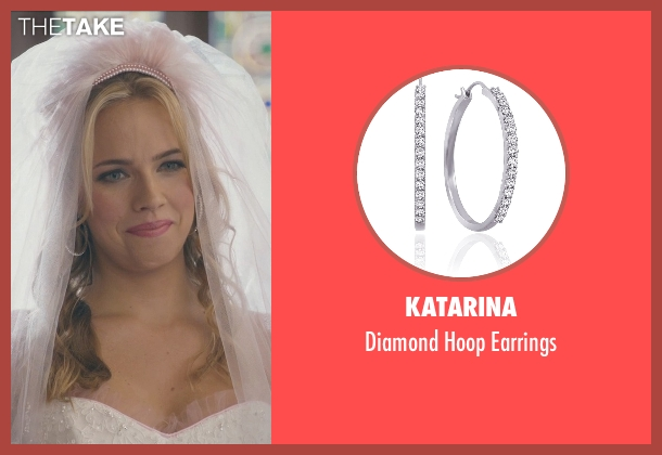 Katarina white earrings from Ted 2 seen with Jessica Barth (Tami-Lynn)