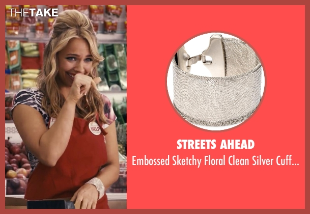 Streets Ahead silver bracelet from Ted seen with Jessica Barth (Tami-Lynn)