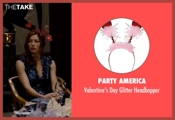 Party America headbopper from Valentine's Day seen with Jessica Biel (Kara Monahan)