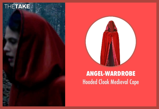 Angel-Wardrobe red cape from Victor Frankenstein seen with Jessica Brown Findlay (Lorelei)