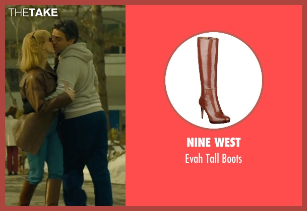 Nine West brown boots from A Most Violent Year seen with Jessica Chastain (Anna Morales)