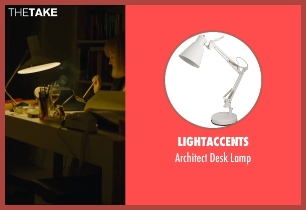 Lightaccents lamp from A Most Violent Year seen with Jessica Chastain (Anna Morales)