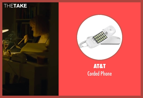 AT&T phone from A Most Violent Year seen with Jessica Chastain (Anna Morales)