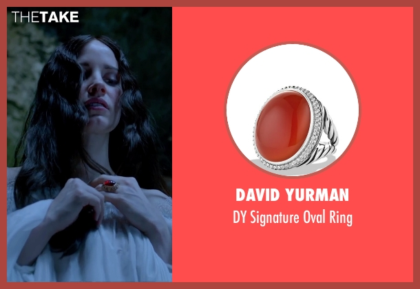 David Yurman ring from Crimson Peak seen with Jessica Chastain (Lady Lucille Sharpe)