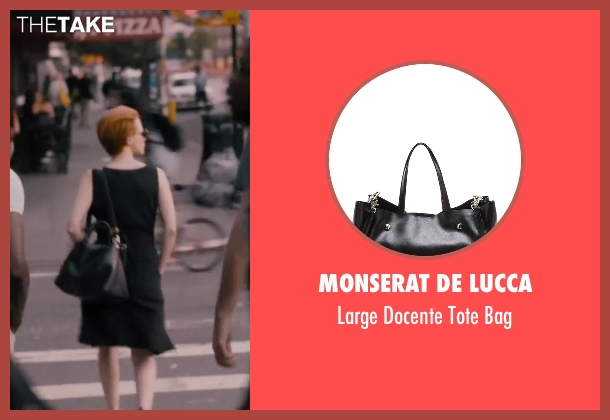 Monserat De Lucca black bag from The Disappearance of Eleanor Rigby seen with Jessica Chastain (Eleanor Rigby)