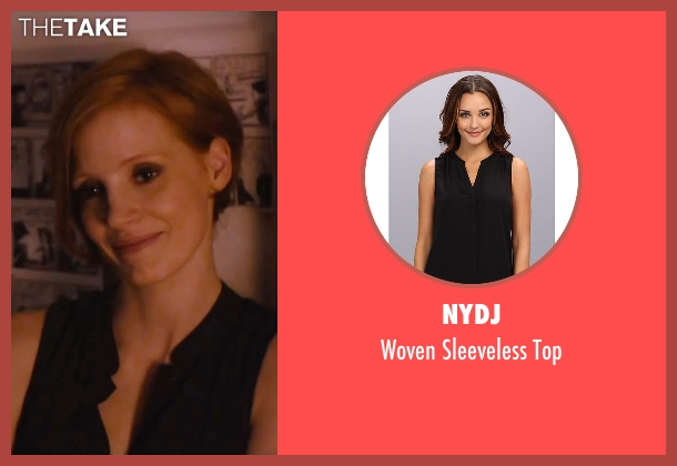 NYDJ black top from The Disappearance of Eleanor Rigby seen with Jessica Chastain (Eleanor Rigby)
