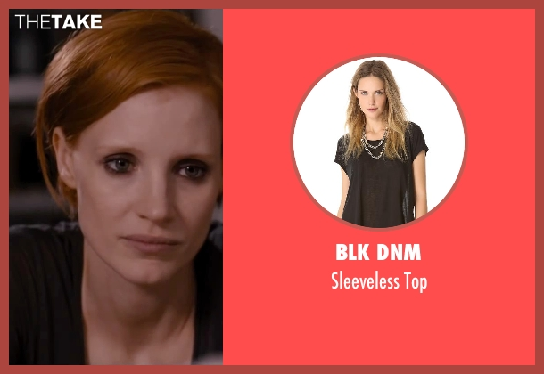 BLK DNM black top from The Disappearance of Eleanor Rigby seen with Jessica Chastain (Eleanor Rigby)