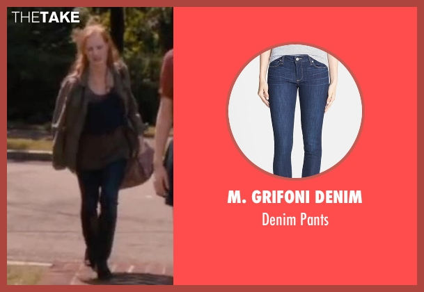 M. Grifoni Denim blue pants from The Disappearance of Eleanor Rigby seen with Jessica Chastain (Eleanor Rigby)
