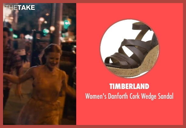Timberland brown sandal from The Disappearance of Eleanor Rigby seen with Jessica Chastain (Eleanor Rigby)