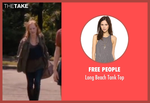 Free people gray top from The Disappearance of Eleanor Rigby seen with Jessica Chastain (Eleanor Rigby)