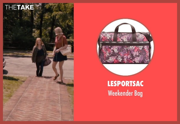 LeSportsac purple bag from The Disappearance of Eleanor Rigby seen with Jessica Chastain (Eleanor Rigby)