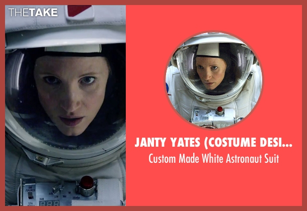 Janty Yates (Costume Designer) suit from The Martian seen with Jessica Chastain (Melissa Lewis)