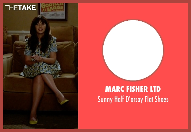 Marc Fisher Ltd yellow shoes from New Girl seen with Jessica Day (Zooey Deschanel)