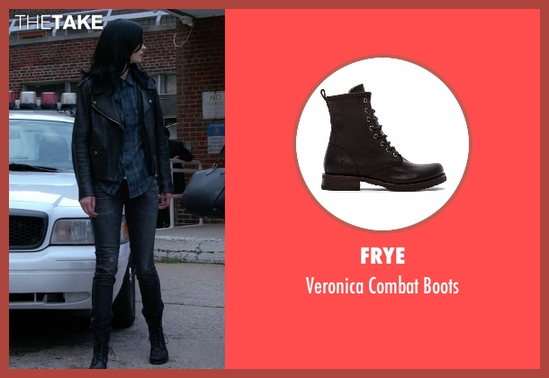 Frye black boots from Jessica Jones seen with Jessica Jones (Krysten Ritter)
