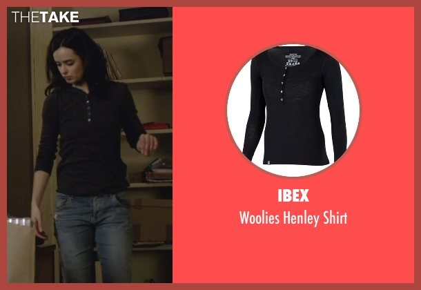 Ibex black shirt from Jessica Jones seen with Jessica Jones (Krysten Ritter)