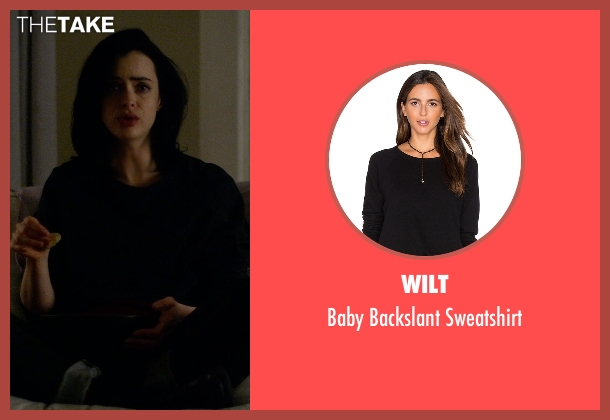 Wilt black sweatshirt from Jessica Jones seen with Jessica Jones (Krysten Ritter)