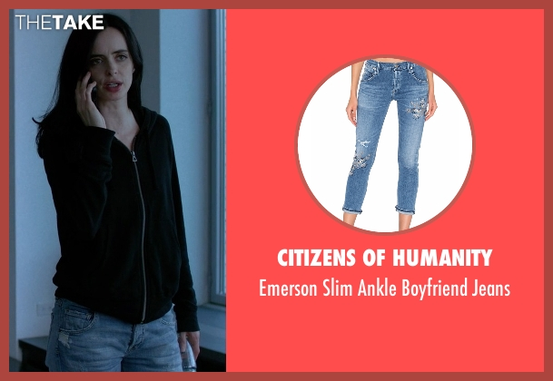 Citizens Of Humanity blue jeans from Jessica Jones seen with Jessica Jones (Krysten Ritter)
