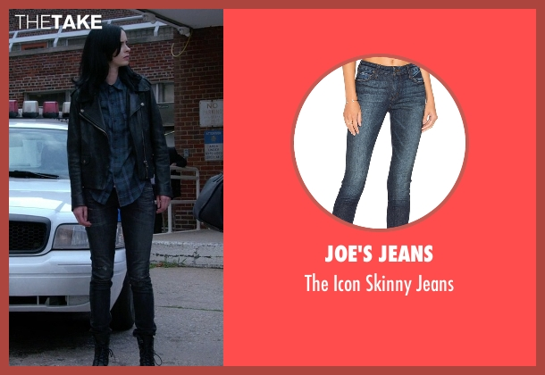 Joe's Jeans blue jeans from Jessica Jones seen with Jessica Jones (Krysten Ritter)