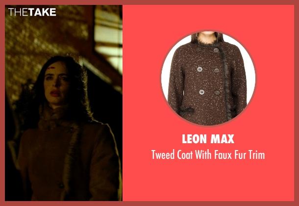 Leon Max brown trim from Jessica Jones seen with Jessica Jones (Krysten Ritter)
