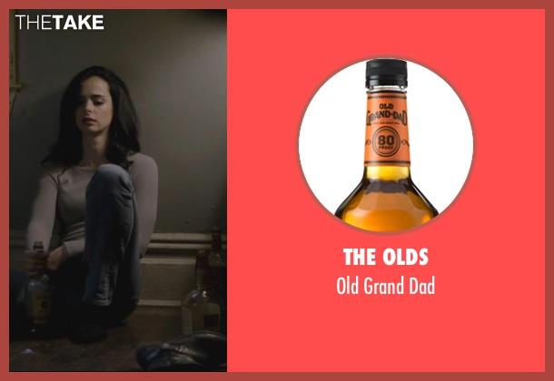 The Olds dad from Jessica Jones seen with Jessica Jones (Krysten Ritter)