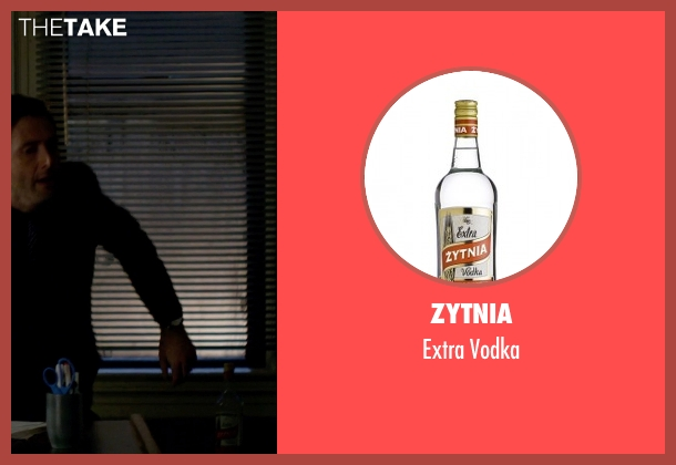 Zytnia vodka from Jessica Jones seen with Jessica Jones (Krysten Ritter)