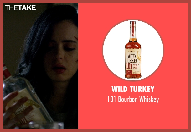 Wild Turkey whiskey from Jessica Jones seen with Jessica Jones (Krysten Ritter)