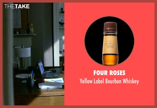 Four Roses whiskey from Jessica Jones seen with Jessica Jones (Krysten Ritter)