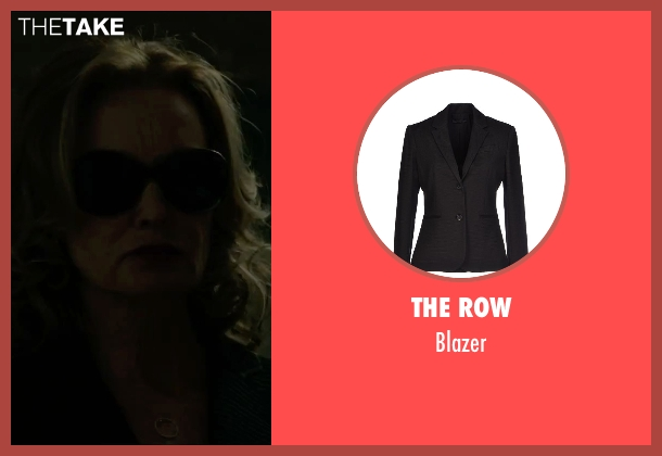 The Row black blazer from The Gambler seen with Jessica Lange (Roberta)