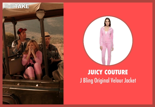 Juicy Couture pink jacket from Blended seen with Jessica Lowe (Ginger)