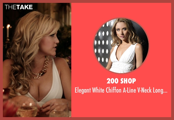 200 shop white dress from Blended seen with Jessica Lowe (Ginger)