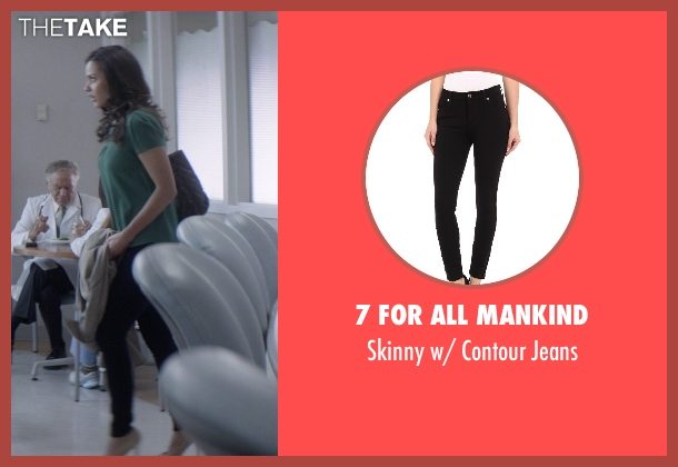7 For All Mankind black jeans from That Awkward Moment seen with Jessica Lucas  (Vera)