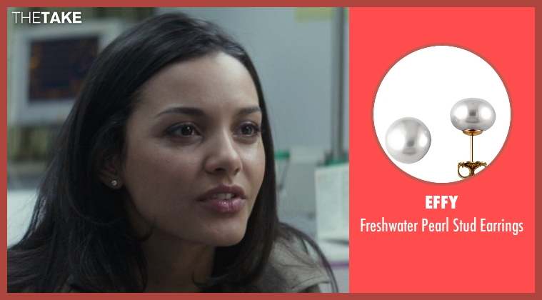 Effy gray earrings from That Awkward Moment seen with Jessica Lucas  (Vera)