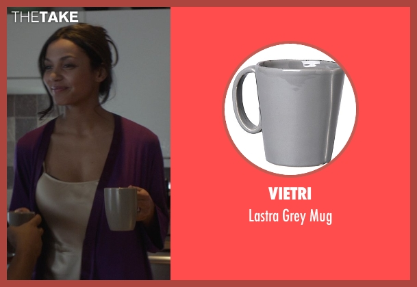 Vietri mug from That Awkward Moment seen with Jessica Lucas  (Vera)