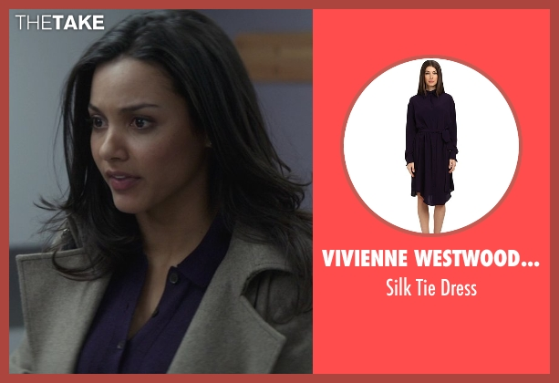 Vivienne Westwood Red Label purple dress from That Awkward Moment seen with Jessica Lucas  (Vera)