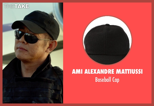 Ami Alexandre Mattiussi black cap from The Expendables 3 seen with Jet Li (Yin Yang)
