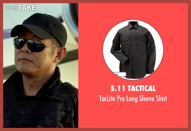 5.11 Tactical black shirt from The Expendables 3 seen with Jet Li (Yin Yang)