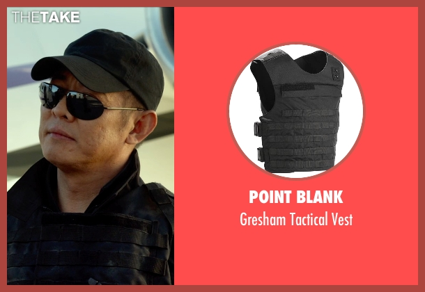 Point Blank vest from The Expendables 3 seen with Jet Li (Yin Yang)