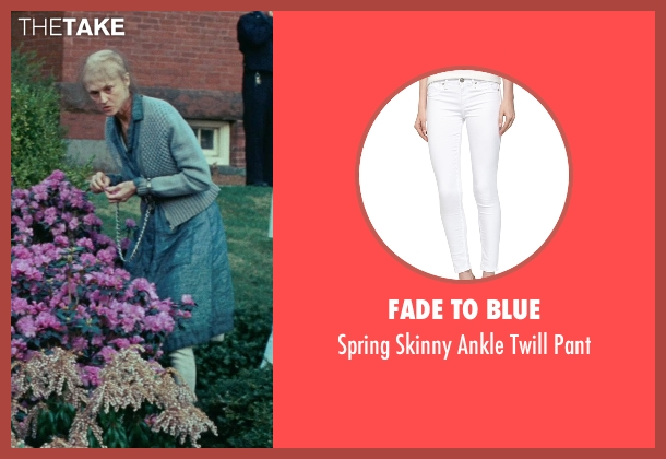 Fade to Blue white pant from Shutter Island seen with Jill Larson (Unknown Character)