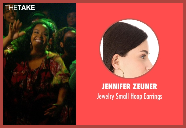 "Jennifer Zeuner gold earrings from Get On Up seen with Jill Scott (Deidre ""Dee-Dee"" Jenkins)"