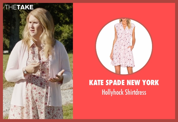 Kate Spade New York shirtdress from Fist Fight seen with Jillian Bell (Unknown Character)