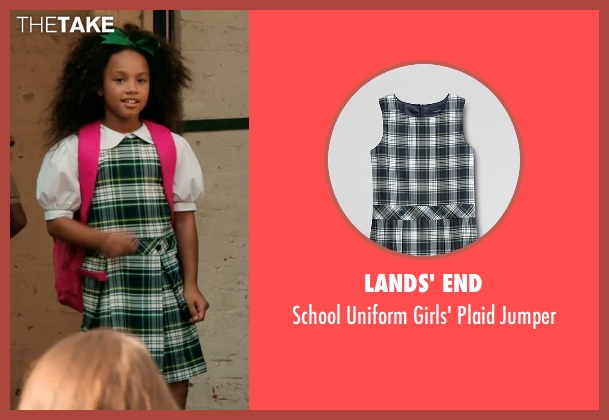 Lands' End green jumper from Black or White seen with Jillian Estell (Eloise Anderson)