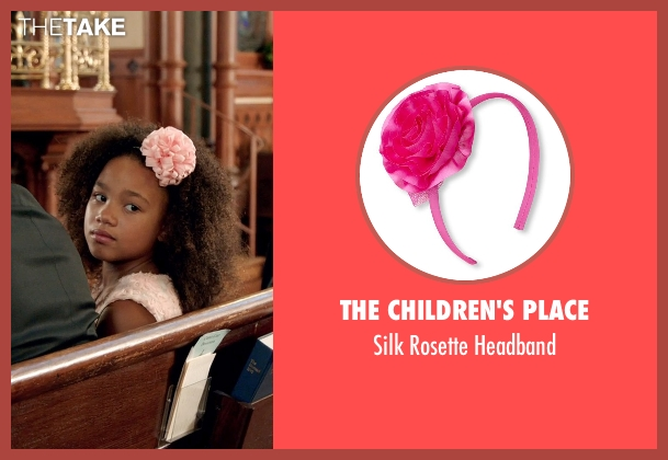 The Children's Place pink headband from Black or White seen with Jillian Estell (Eloise Anderson)