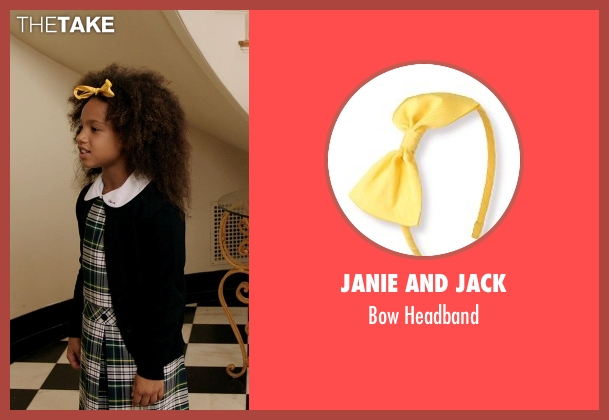 Janie And Jack yellow headband from Black or White seen with Jillian Estell (Eloise Anderson)