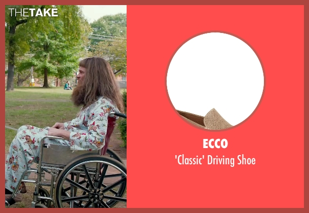 Ecco beige shoe from Dumb and Dumber To seen with Jim Carrey (Lloyd Christmas)