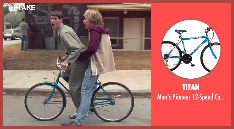 Titan bike from Dumb and Dumber To seen with Jim Carrey (Lloyd Christmas)